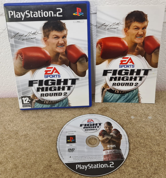 EA Sports Fight Night Round 2 Sony Playstation 2 (PS2) Game