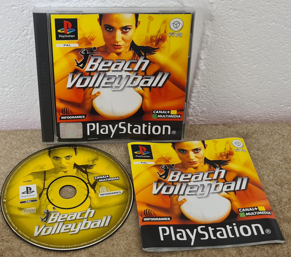 Beach Volleyball Sony Playstation 1 (PS1) Game