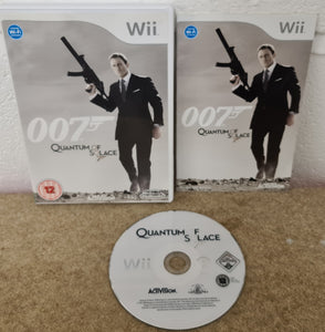 007 Quantum of Solace Nintendo Wii Game