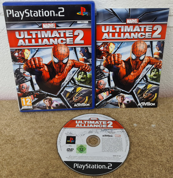Marvel Ultimate Alliance 2 Sony Playstation 2 (PS2) RARE Game
