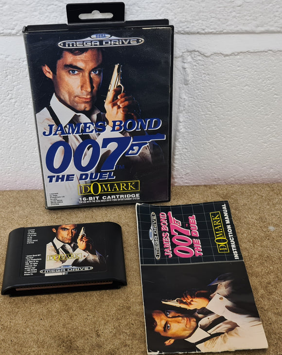 James Bond 007 the Duel Sega Mega Drive Game