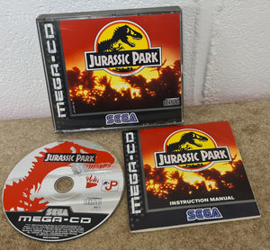 Jurassic Park Sega Mega CD Game