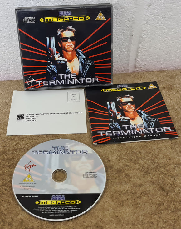 The Terminator Sega Mega CD Ultra RARE Game