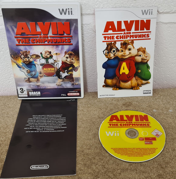 Alvin and the Chipmunks Nintendo Wii Game