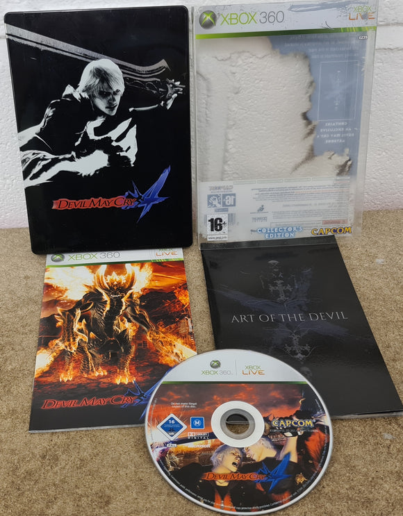 Devil May Cry 4 Collector's Edition Microsoft Xbox 360 Game