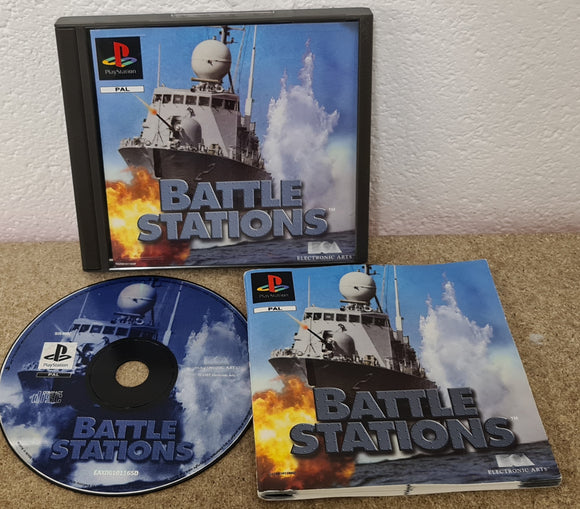 Battle Stations Sony Playstation 1 (PS1) Game