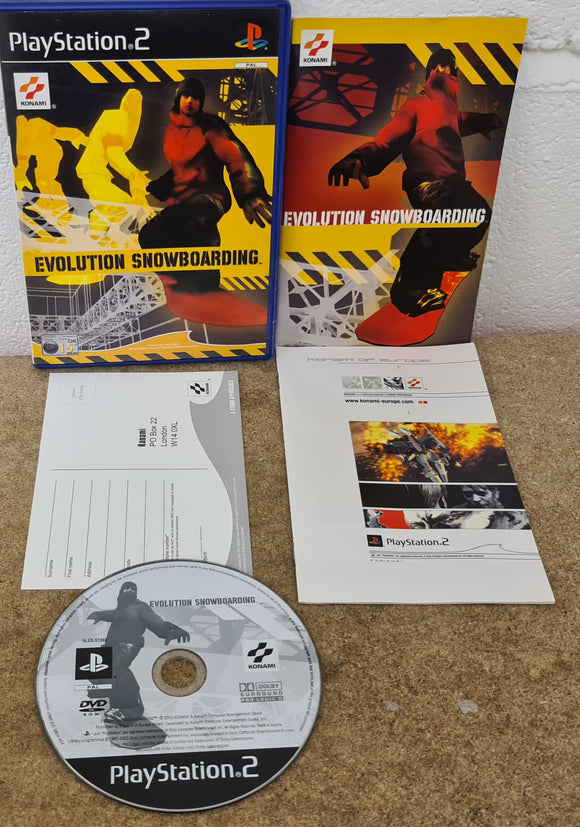 Evolution Snowboarding Sony Playstation 2 (PS2) Game