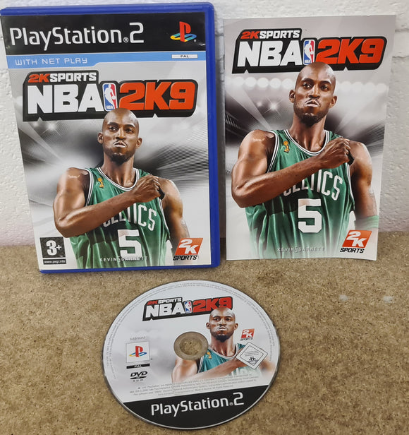 NBA 2K9 Sony Playstation 2 (PS2) Game