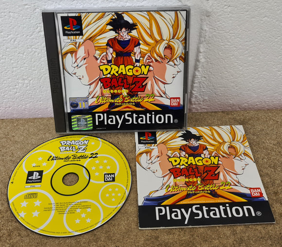 Dragon Ball Z Ultimate Battle 22 (Sony Playstation 1) Game