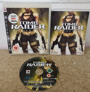 Tomb Raider Underworld Sony Playstation 3 (PS3) Game