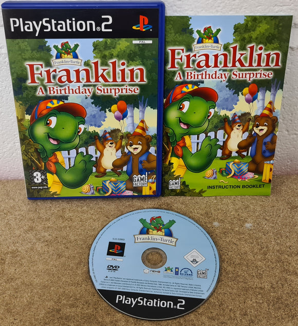 Franklin a Birthday Surprise Sony Playstation 2 (PS2) Game