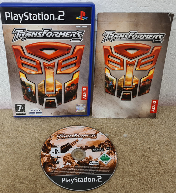 Transformers Sony Playstation 2 (PS2) Game