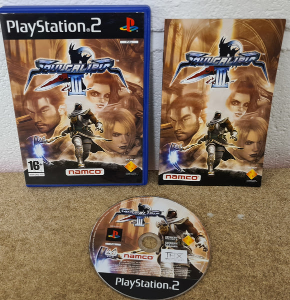 Soulcalibur III Sony Playstation 2 (PS2) Game