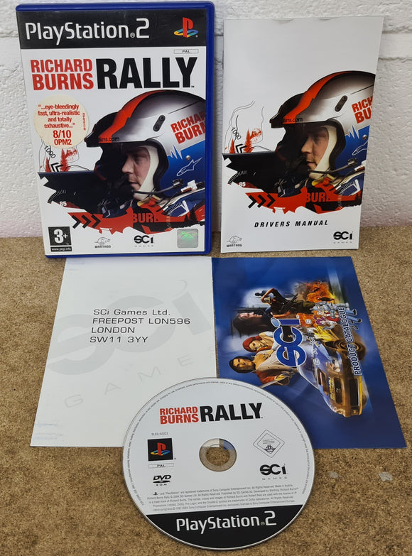 Richard Burns Rally Sony Playstation 2 (PS2) Game
