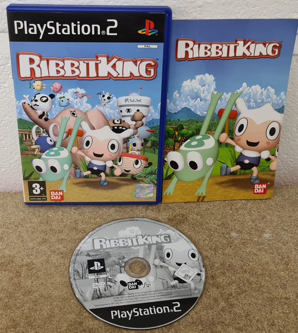 Ribbit King Sony Playstation 2 (PS2) Game