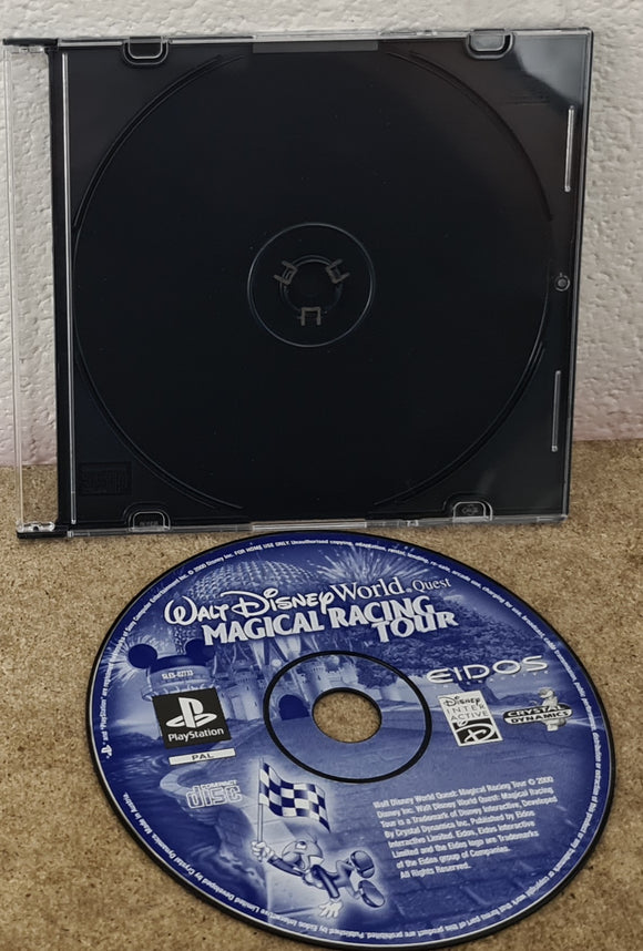 Walt Disney World Quest Magical Racing Tour Sony Playstation 1 (PS1) Game Disc Only