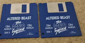 Altered Beast Amiga Game Discs Only