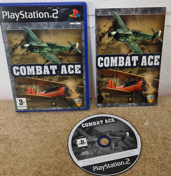 Combat Ace Sony Playstation 2 (PS2) Game