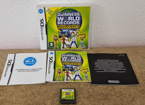 Guinness World Records Nintendo DS Game