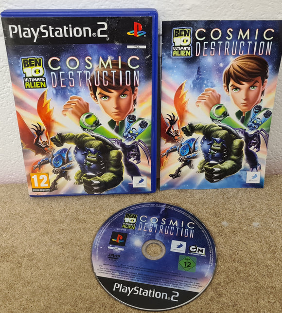 Ben 10 Cosmic Destruction Sony Playstation 2 (PS2) Game
