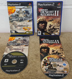 Conflict Desert Storm 1 & 2 Sony Playstation 2 (PS2) Game Bundle