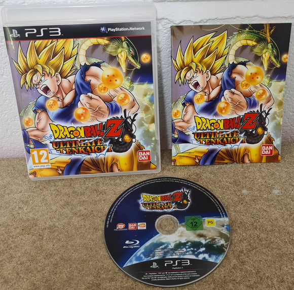 Dragon Ball Z Ultimate Tenkaichi Sony Playstation 3 (PS3) Game