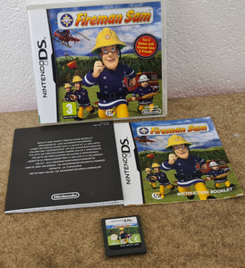 Fireman Sam Nintendo DS Game