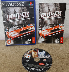Driver Parallel Lines Sony Playstation 2 (PS2) Game