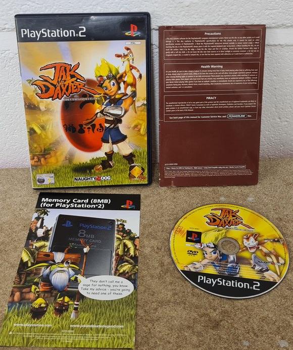 Jak & Daxter the Precursor Legacy Black Label Sony Palystation 2 (PS2) Game