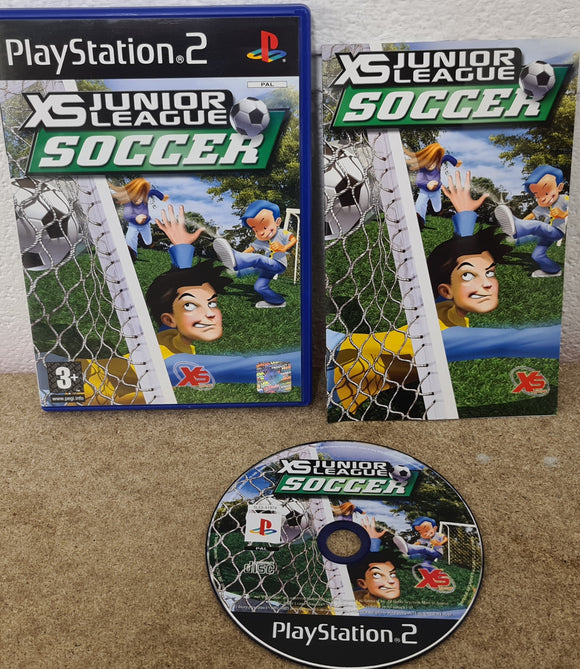 XS Junior League Soccer Sony Playstation 2 (PS2) Game