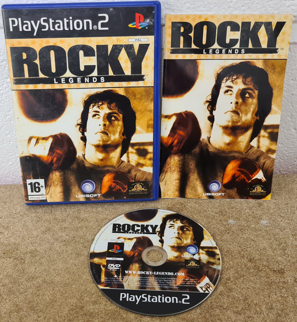 Rocky Legends Sony Playstation 2 (PS2) Game