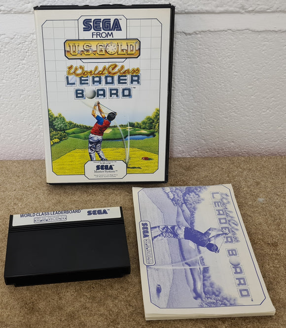 World Class Leaderboard Sega Master System Game