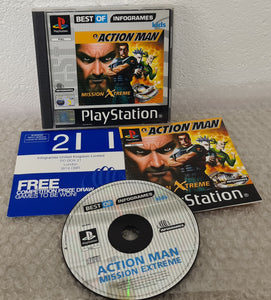 Action Man Mission Xtreme Best of Infogrames Sony Playstation 1 (PS1) Game