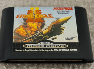F-15 Strike Eagle II Sega Mega Drive RARE Game Cartridge Only