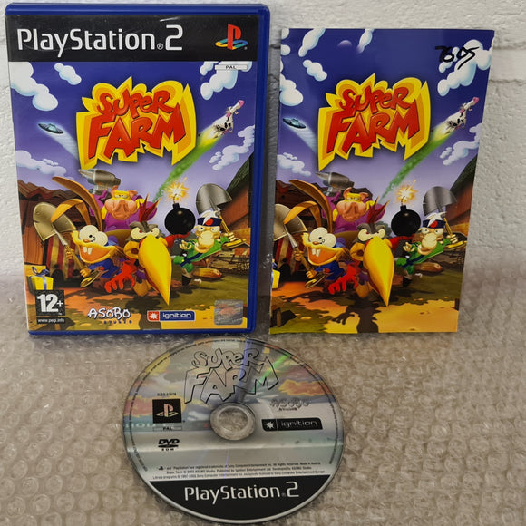 Super Farm Sony Playstation 2 (PS2) Game