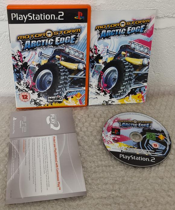 Motorstorm Arctic Edge Sony Playstation 2 (PS2) RARE Game