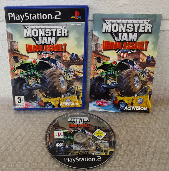 Monster Jam Urban Assault Sony Playstation 2 (PS2) Game