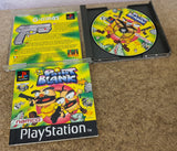 Boxed Namco Light Gun & Point Blank Sony Playstation 1 RARE Game & Accessory