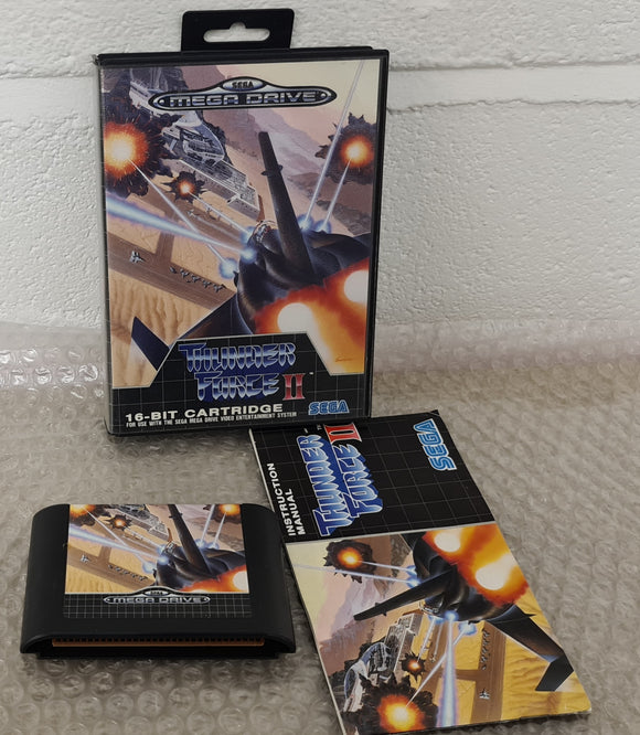 Thunder Force II (Sega Mega Drive) game