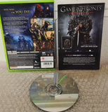 Game of Thrones Microsoft Xbox 360 Game