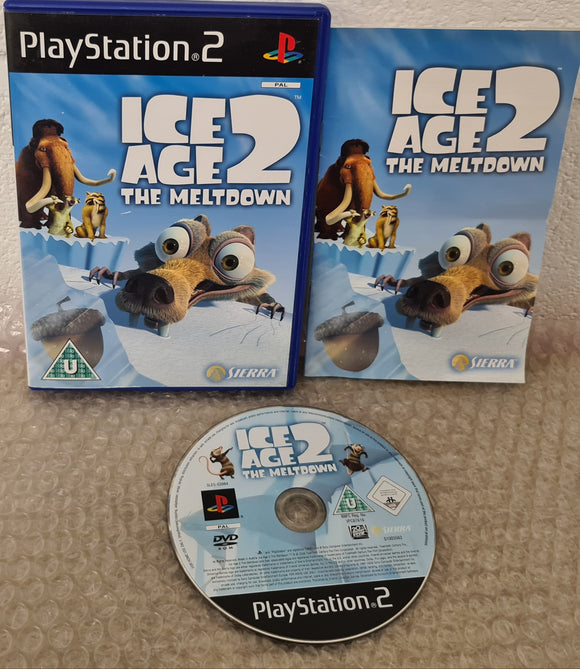Ice Age 2 the Meltdown Sony Playstation 2 (PS2) Game