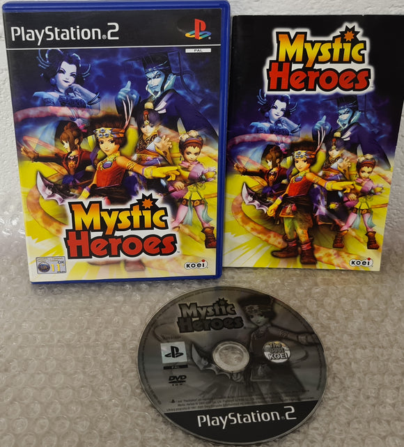 Mystic Heroes Sony Playstation 2 (PS2) Game