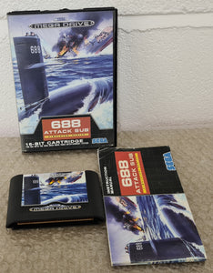 688 Attack Sub Sega Mega Drive Game