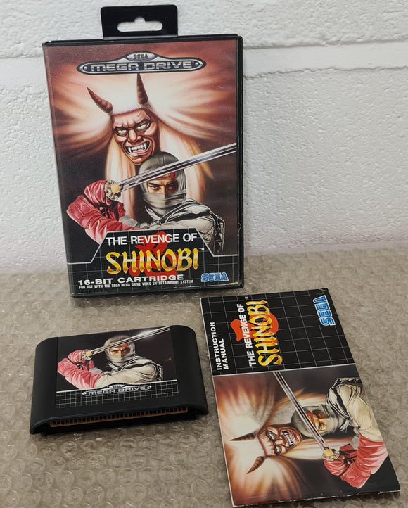 The Revenge of Shinobi Sega Mega Drive Game