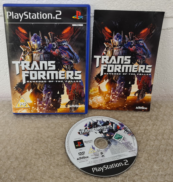 Transformers Revenge of the Fallen Sony Playstation 2 (PS2) Game