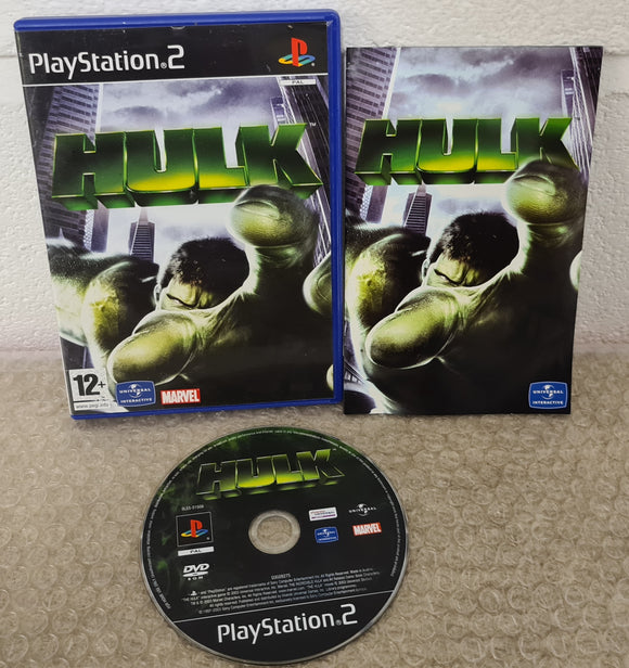 Hulk Sony Playstation 2 (PS2) Game