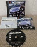 Need for Speed Porsche 2000 Sony Playstation 1 (PS1) RARE Game