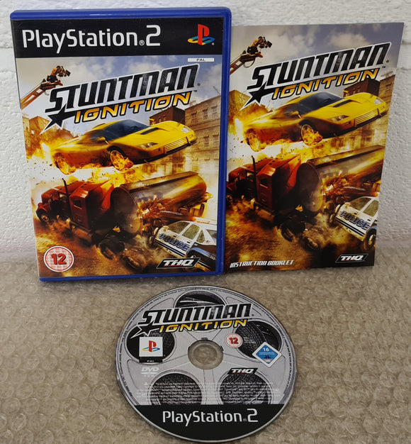 Stuntman Ignition Sony Playstation 2 (PS2) Game