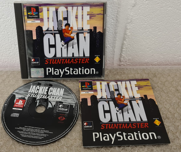Jackie Chan Stuntmaster Sony Playstation 1 (PS1) RARE Game
