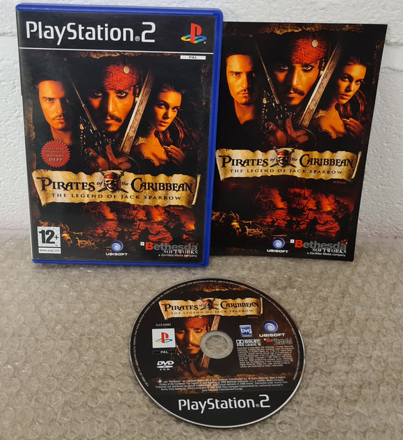 Pirates of the Caribbean the Legend of Jack Sparrow Sony PlayStation 2 (PS2) Game
